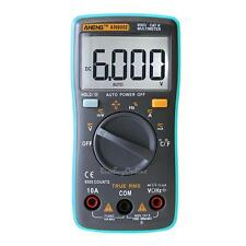 ANENG Auto Digital Multimeter 6000Counts Backlight AC/DC Ohm Ammeter Temperature