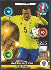 PANINI EURO 2016 ADRENALYN XL CARD- #372-SVERIGE-SWEDEN-MARTIN OLSSON
