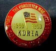KOREA WAR 54246 KIA HAT LAPEL PIN US ARMY MARINES NAVY AIR FORCE VETERAN #6034