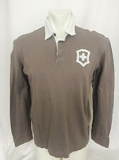Victorinox Swiss Army Long Sleeved Rugby Polo. Men's. Large. NWOT