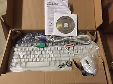 Microsoft Multimedia PS/2 Keyboard & Optical Mouse Port Value Pack K96-00001