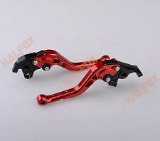 NRB Red brake clutch levers For YAMAHA YZF R125 2008-2011