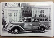 "12 By 18"" Black & White PICTURE 1936 Ford Woody Station Wagon artist rendering"