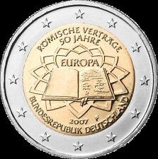 Germania   2€ 2007 Trattato di Roma ToR  FDC zecca A