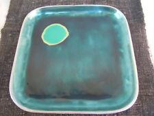 MDP MILANOciotola/piatto in fusione di alluminio e pasta di vetro BLU/CELESTE gr
