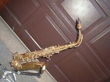 BUESCHER Alto Saxophone vintage unique horn parts or project!