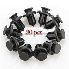 20 Bumper Retainer Clip Panel Fastener Trim Rivet Plastic For Honda Accord Civic