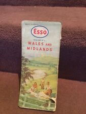 Map Esso Wales And Midlands