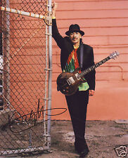 CARLOS SANTANA AUTOGRAPH SIGNED PP PHOTO POSTER