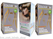 3 Boxes x Colour B4 Extra Strength Ammonia-free Hair Dye Colour Remover Stipper