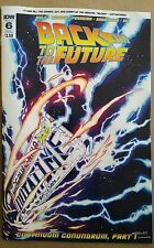 Back To The Future #6 Subscription Cover 2016