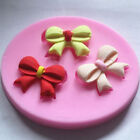 Silicone Bowknot Fondant Mould Cake Decoration Chocolate Baking Mold Sugarcraft
