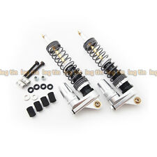Alloy Piggyback Shock Set (1 Pair) Silver for Axial Wraith [LT10008si]