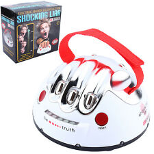 New Polygraph Shocking Liar Micro Electric Shock Lie Detector Truth Game Toy