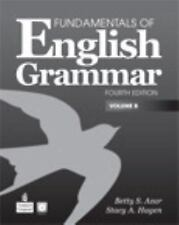 NEW Fundamentals of English Grammar, Volume B by Betty Schrampfer Azar Paperback