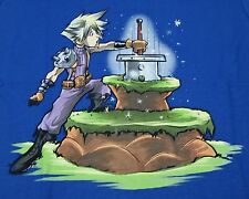 """""""The Buster Sword in the Stone"""" Final Fantasy VII Cloud Women's XL Shirt Teefury"""