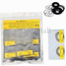 950Pcs 0.5MM O-Ring Watch Back Gasket Rubber Seal Repair Tool Kit Size 12mm-30mm