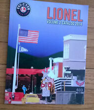 LIONEL TRAINS VOLUME 2 CATALOG 2014 , Railroad cars, Accessories,Trains, MINT