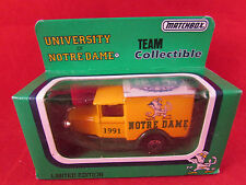 MATCHBOX-EDIZIONE LIMITATA FORD MODEL A-Università di Notre Dame-NEW & BOXED