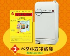 Re-Ment Miniature Retro Electric Applicance of Hitachi # 2 Refrigerator