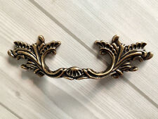"3"" Dresser Pulls Drawer Pull Handle Cabinet Handles Leaf Antique Bronze 76 mm"