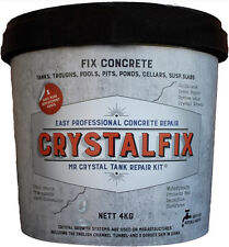 Crystalfix Mr Crystal Concrete Repair Kit Walls Water Tank Pool Trough Pond 3449