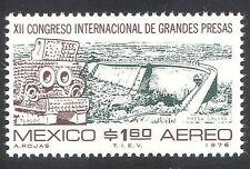 MEXICO 1976 DAM/acqua/Serbatoio/Irrigazione/Pioggia Dio/NATURA 1v (n39836)