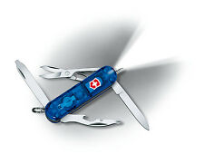 Victorinox MIDNITE MANAGER Sapphire Swiss Army Knife W/ White LED Light - NEW