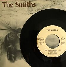 "THE SMITHS -This Charming Man- Rare French 7"" with Picture sleeve (Vinyl Record)"