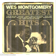 Wes Montgomery's Greatest Hits/A&M/SP-4247LLP/Mini LP/VG++