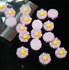 20 pcs Purple FlatBack Resin Sunflower DIY mobile phone case decoration cosmetic