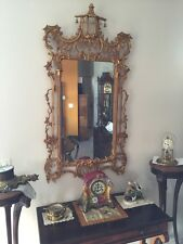 Chippendale Mirror w/Pagoda & Bell Cresting by Mirror Fair - Exquisite! (6637)
