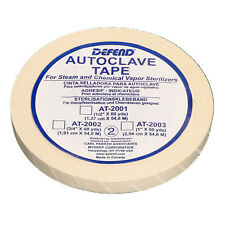 "DEFEND 1"" x 60 yds Autoclave Sterilization Indicator Tape TATTOO DENTAL USA SHIP"
