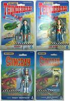 THUNDERBIRDS & STINGRAY Action Figures MATCHBOX 1992 (Assorted)