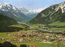 Alte Postkarte - Blick auf Reutte und die Lechtaler Alpen