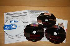 CDs pour appareil photo EOS 350D|EOS 20D Canon|ArcSoft photo Studio |instruction