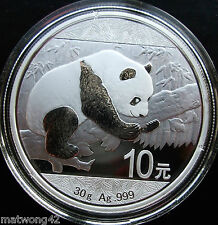 *NEW* China 2016 30 grams 0.999 PURE SILVER Panda COIN 10 Yuan