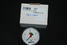 "WATTS INDUSTRIES 820080304 MANOMETER D 80 1/2"" 4 BAR NEU"