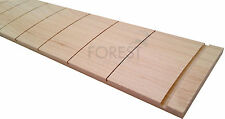 "Hard maple guitar fretboard,  25.5"" Fender slotted R7.25""- vintage style"
