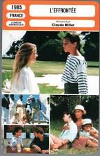 L'EFFRONTEE - Charlotte Gainsbourg,Claude Miller (Fiche Cinéma) 1985 - The Hussy
