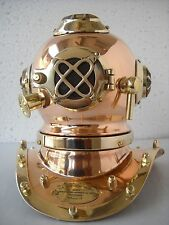 Antique Reproduction Sea navy diver  Diving Helmet diving mask HANDMADE SD8F2VMX