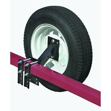 BOAT UTILITY TRAILER SPARE TIRE CARRIER HOLDER RACK Fits Four & Five Lug Wheels