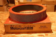 NOS Motorcraft FA 50 Air filter element 71-72 Mustang, Boss 351, Ram Air