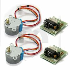 2pcs Stepper Motor DC 5V 28BYJ-48 & ULN2003 Driver Test Module Board for Arduino
