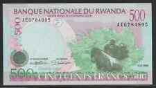 Rwanda P-26 500 Francs 1998 Unc