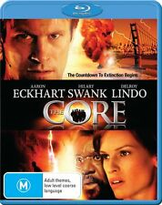 THE CORE (2003 Aaron Eckhart, Hilary Swank)  -  Blu Ray - Sealed Region B