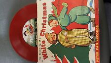 Peter Pan RED Records I'M DREAMING OF A WHITE CHRISTMAS 78 RPM 1951