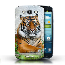 Stuff4 Hülle/Case für Samsung Galaxy S3/SIII/Tiger/Wilde Tiere
