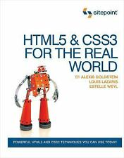 Html5 and Css3 For The Real World by Alexis Goldstein