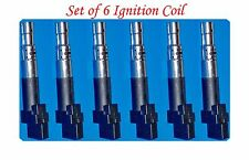 Set of 6 Ignition Coil Fits: V6 3.6L  AUDI Q7  WV CC PASSAT PASSAT CC TOUAREG